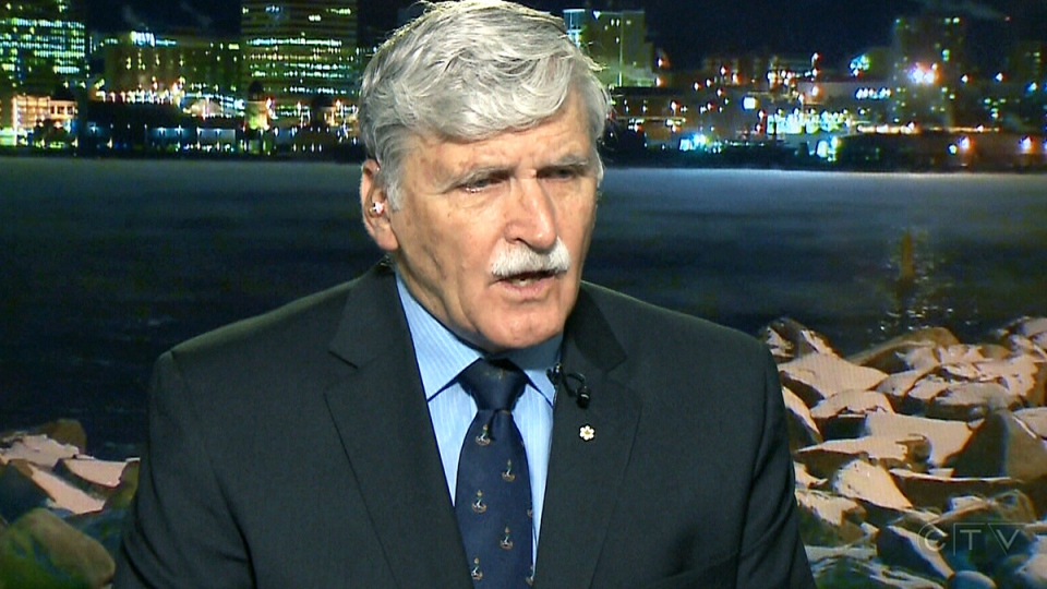 Retired Lt.-Gen. Romeo Dallaire speaks to CTV News, Tuesday, Feb. 16, 2016.