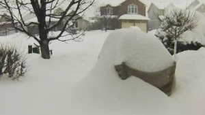 Canada AM: Timelapse video of record Ottawa snow