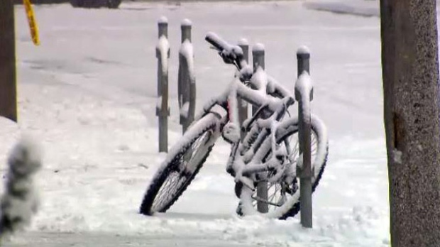 Extreme cold in Toronto