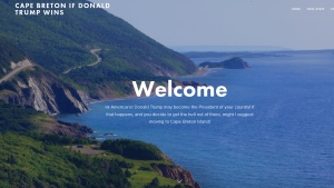 Cape Breton website
