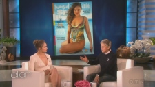 Ronda Rousey appears on The Ellen DeGeneres Show