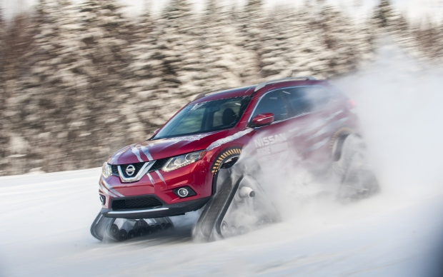 Nissan Rogue Warrior struts its tracks at Toronto