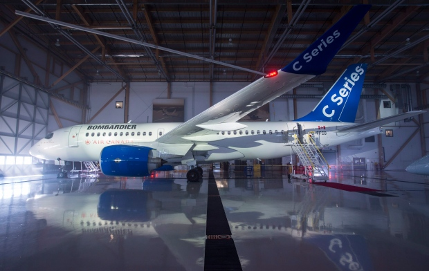 Bombardier Series jet
