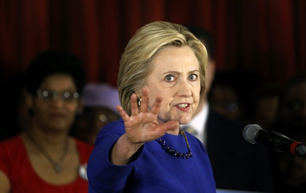 Hillary Clinton Campaign Stops