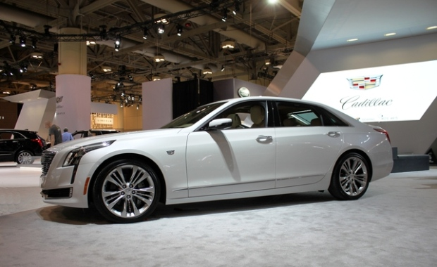 Cadillac CT6 sedan arrives in Canada in March