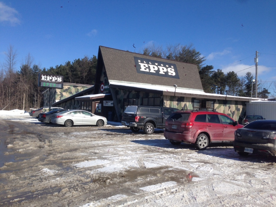 The incident happened in September 2011 at the Ellwood Epps sporting goods store on Highway 11.