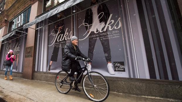 Saks Fifth Avenue in Toronto