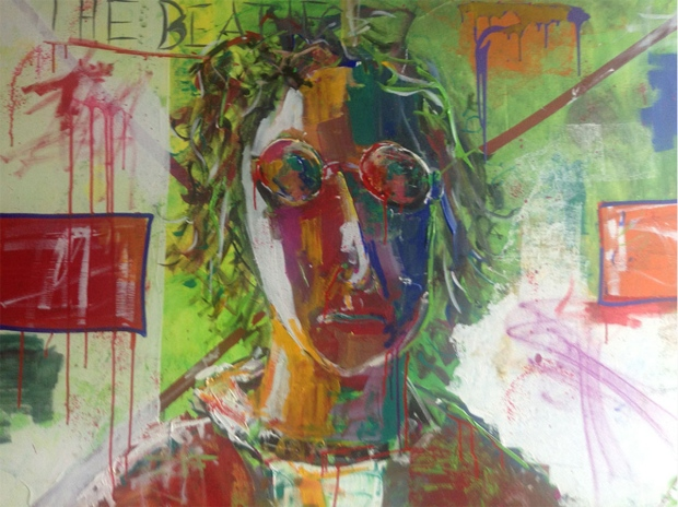 Evan Sharma's 'Lennon' painting