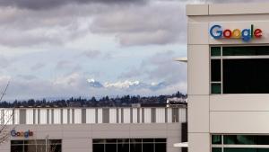 The Google campus in Kirkland, Wash., on Feb. 16, 2016. (Elaine Thompson / AP)