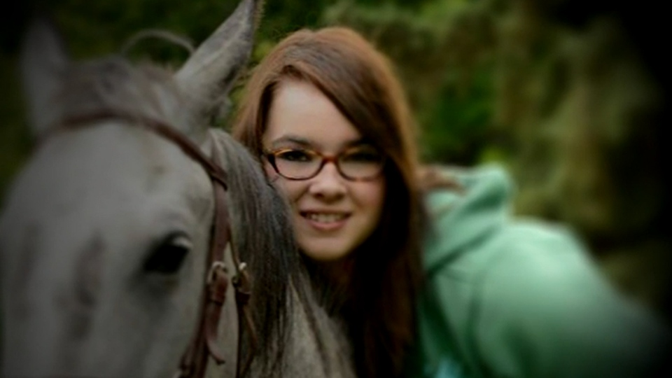 17-year-old Emily Taylor of Wainwright, Alberta took her own life two years ago. (Photo of Emily provided by family)