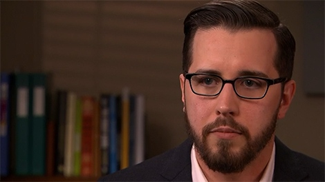 Mental health advocate Mark Henick