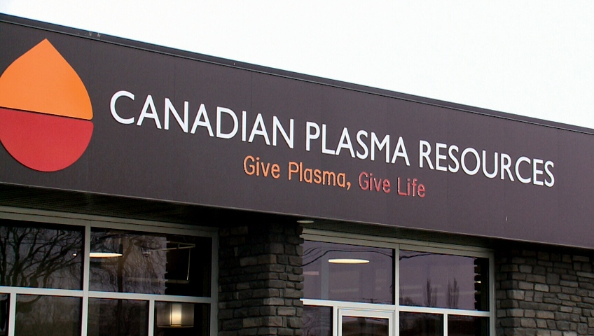 Canadian Plasma Resources officially opened in Saskatoon on Thursday, Feb. 18, 2016.