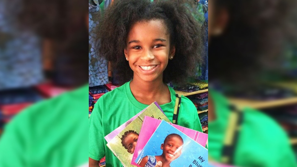 Marley Dias, 11, has collected more than 1,000 books featuring black girl protagonists.