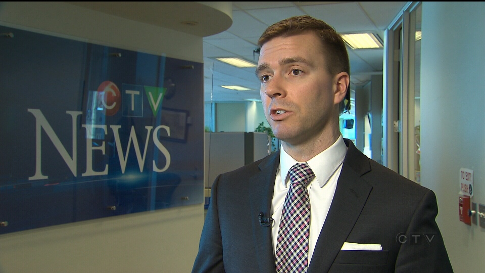 David Perry of the Canadian Global Affairs Institute speaks to CTV News about staffing levels in the Canadian Armed Forces, Thursday, Feb. 18, 2016.