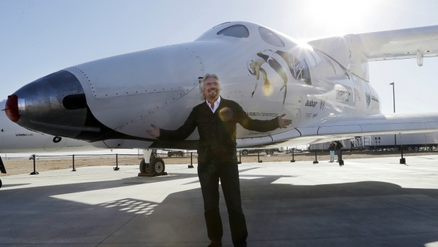Virgin to unveil new SpaceShipTwo