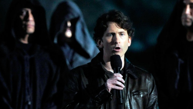Video game producer Todd Howard