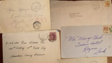 Rimbey RCMP 1946 letters recovered