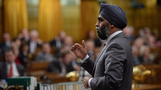 Sajjan military cuts