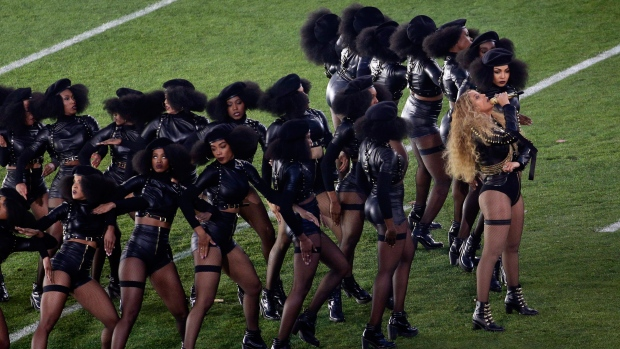 Beyoncé at Super Bowl