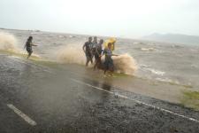 Cyclone in Fiji