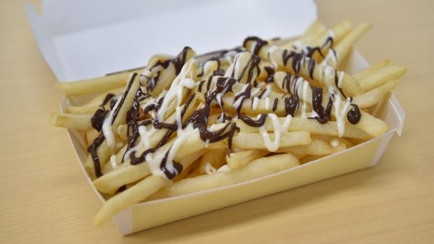 Chocolate fries