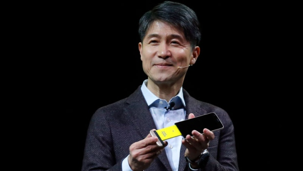 The new LG's G5 smartphone