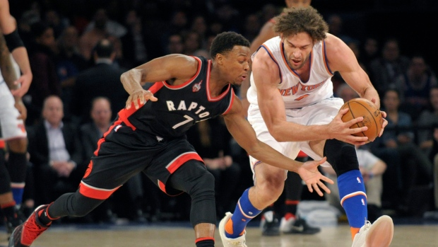 Raptors beat Knicks on Feb. 22, 2016