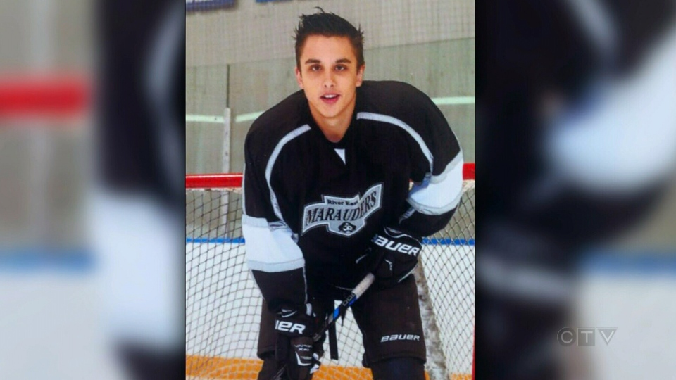 Cooper Nemeth, 17, was a player on the River East Marauders AA hockey team.