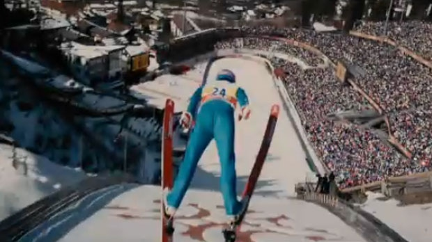 Quot Eddie The Eagle Quot Movie Features 1988 Calgary Olympics