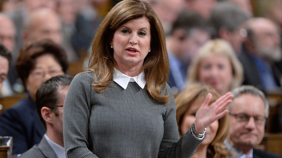 Interim Opposition Leader Rona Ambrose asks a question during question period in the House of Commons on Parliament Hill in Ottawa, on Tuesday, Feb. 23, 2016. (Adrian Wyld / THE CANADIAN PRESS)