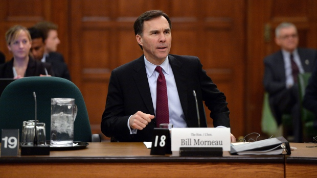 Finance Minister Morneau