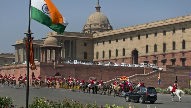 India's parliament in New Delhi