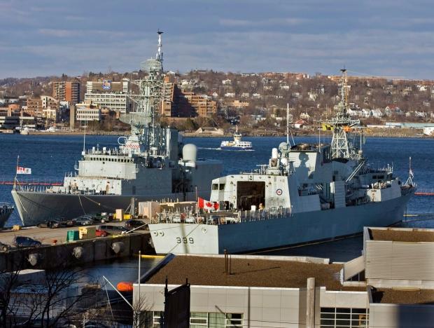 HMCS Charlottetown Halifax-class frigate