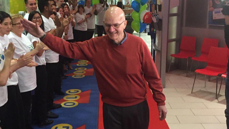 Lottery winner John Henry. (OLG)