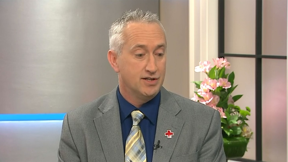 Don Marentette, the national director of first aid and program development at the Canadian Red Cross, appears on CTV's Canada AM on Wednesday, Feb. 24, 2016.