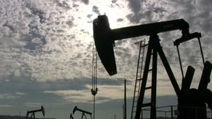 Silhouette - oil drilling