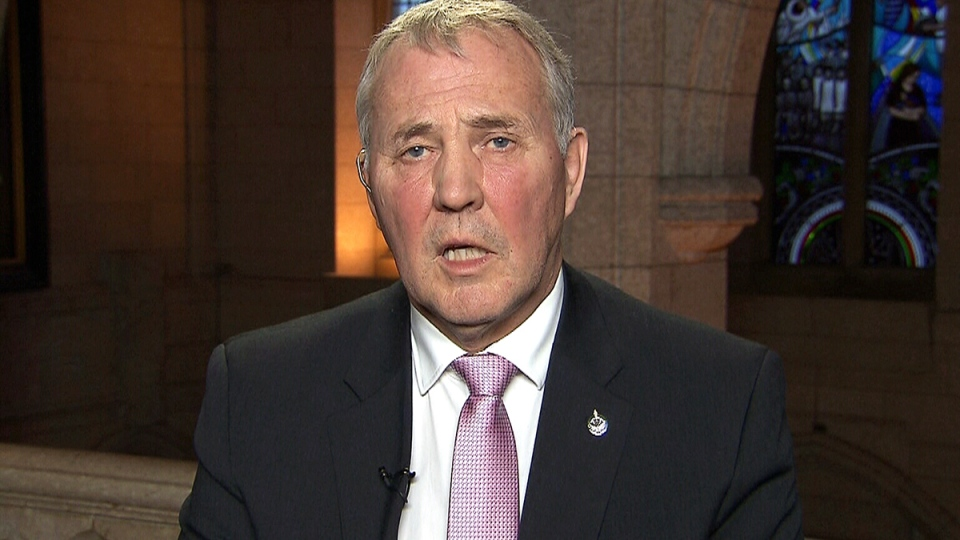 Liberal MP and former Toronto police chief Bill Blair speaks with CTV's Power Play on February 24, 2016.