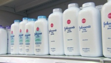 Talcum powder made by Johnson & Johnson. (file photo)
