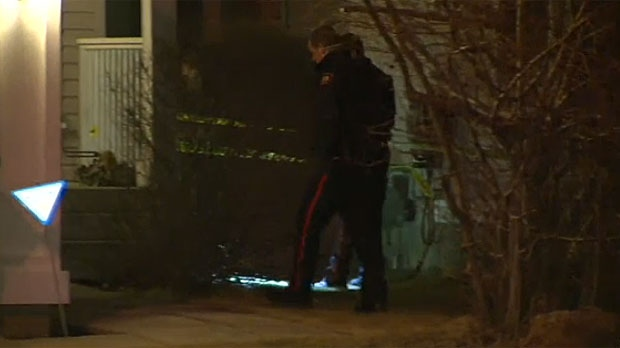 CPS members at a home on Citadel Peak Circle NW following an armed home invasion