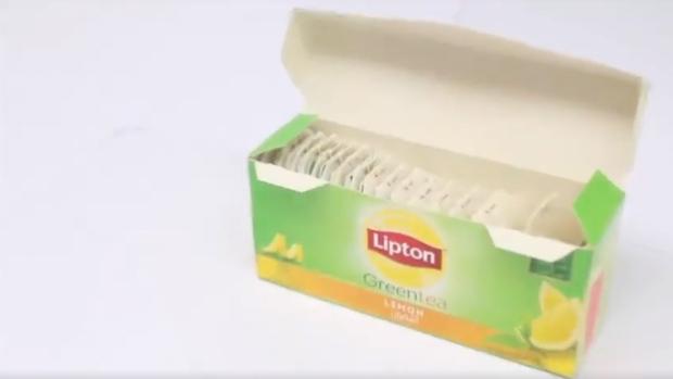 Lipton lemon green tea