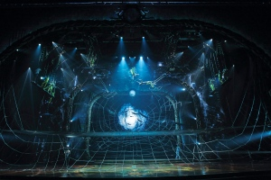In this undated theater publicity image released by Cirque du Soleil, a scene from the Cirque du Soleil production 'Zarkana,' is shown. (AP / Cirque du Soleil, Olivier Samson Arcand)