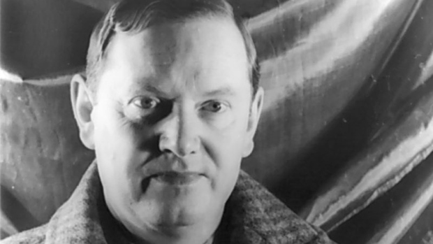 novelist Evelyn Waugh