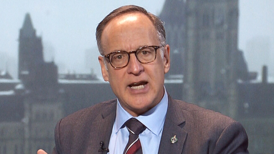 Special Joint Committee on Physician-Assisted Dying co-chair Rob Oliphant speaks on CTV News Channel, Thursday, Feb. 25, 2016.