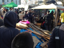 tent city eviction day