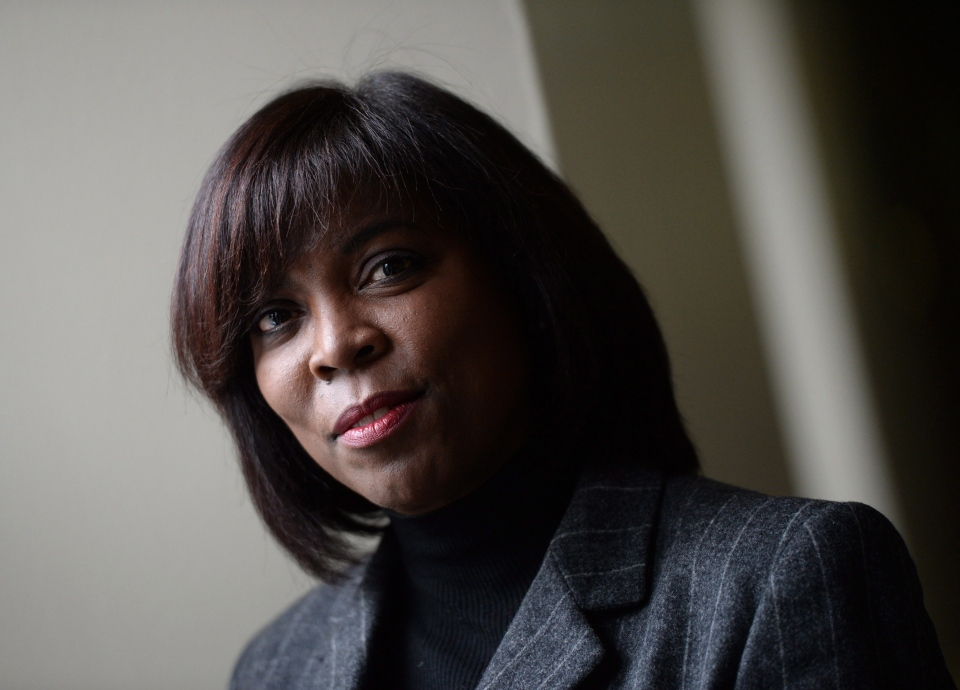 Ertharin Cousin, Executive Director of the United Nations World Food Program, is pictured on Parliament Hill in Ottawa on Thursday, Feb. 25, 2016. (Sean Kilpatrick / THE CANADIAN PRESS)