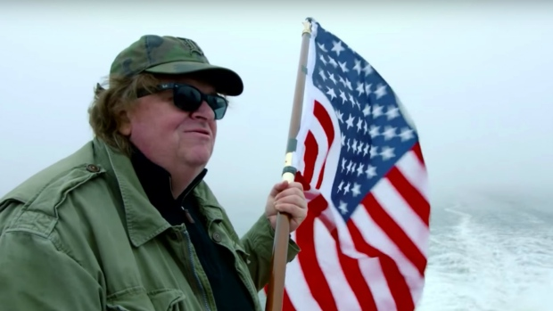 Michael Moore in 'Where to Invade Next'.