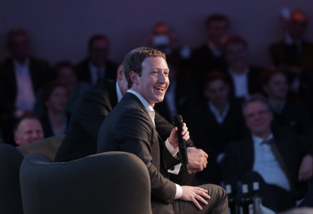 Mark Zuckerberg in Berlin