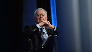 Preston Manning looks on during the Manning Networking Conference in Ottawa on Friday, March 6, 2015. (THE CANADIAN PRESS/Sean Kilpatrick)