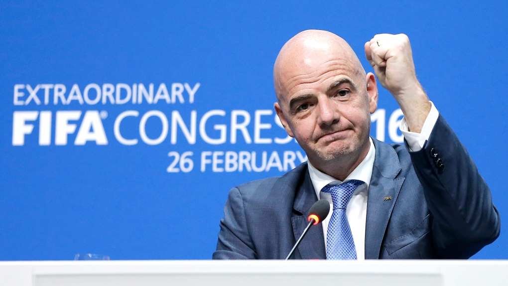 Gianni Infantino elected as new FIFA president