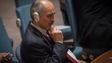 Syria's permanent representative to the UN